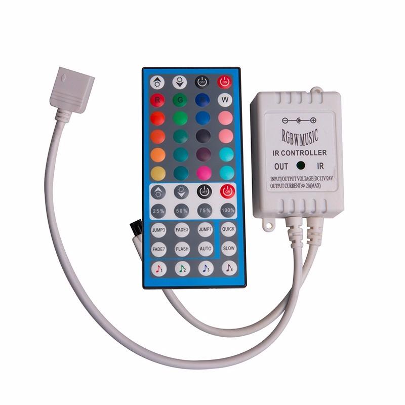 44键RGBW红外音乐LED控制器