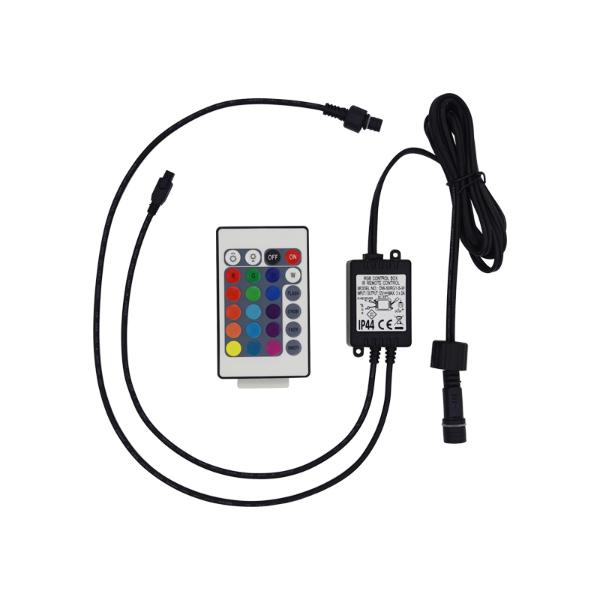 24键红外RGB防水控制器