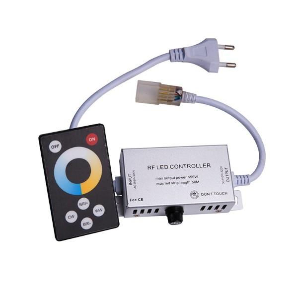 6键触摸双色温高压无线LED控制器