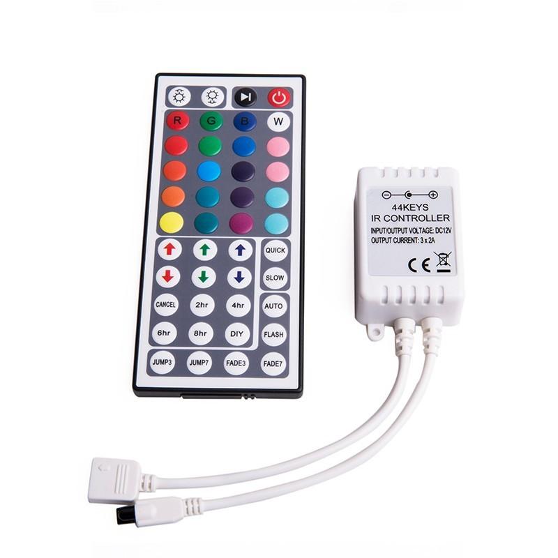 44键红外RGB定时LED控制器