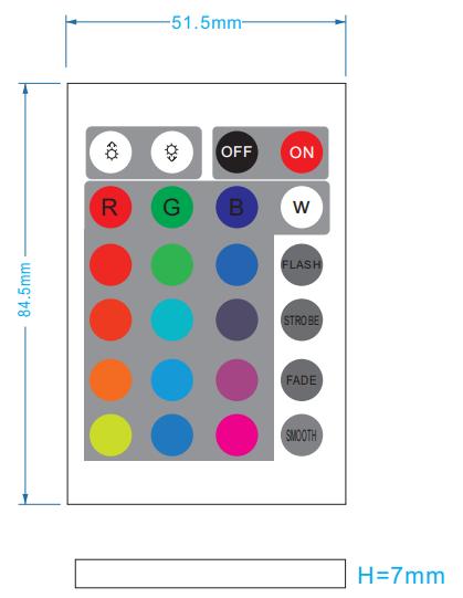 24键红外WiFiLED控制器