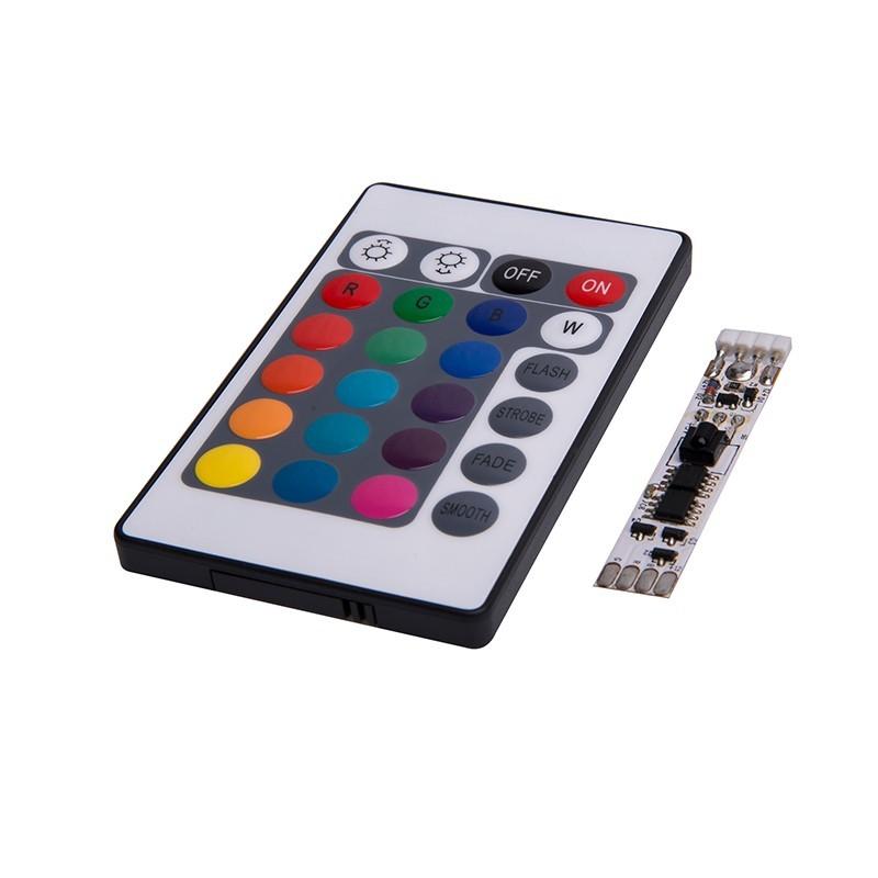 24键红外LED软板控制器