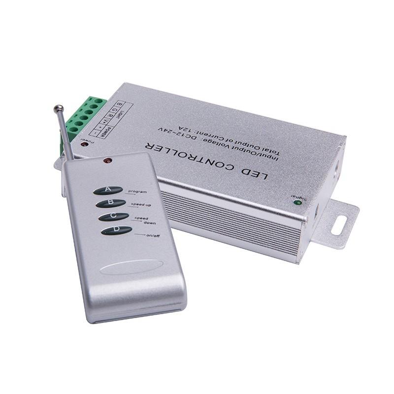 4键无线铝壳LED控制器