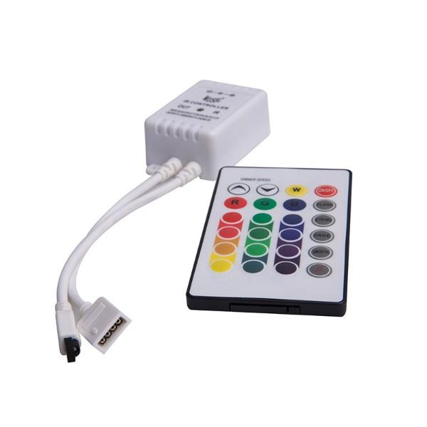 24键音乐LED控制器