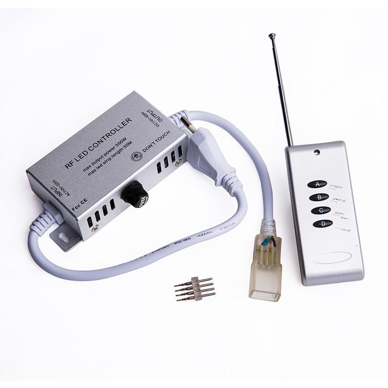 4键无线高压铝壳LED控制器1